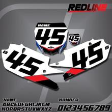Yamaha Redline Number Plates
