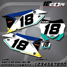 Suzuki CorTeam Number Plates