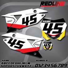 Suzuki Redline Number Plates