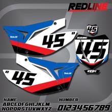 TM Redline Number Plates