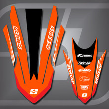 KTM Redline Fender Set