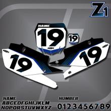 Yamaha Z1 Number Plates