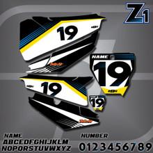 Husqvarna Z1 Number Plates