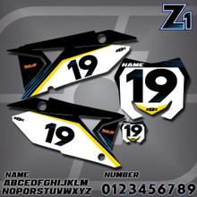 Suzuki Z1 Number Plates