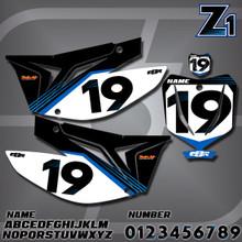 TM Z1 Number Plates