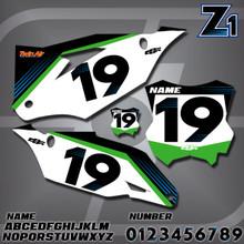Kawasaki Z1 Number Plates