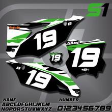 Kawasaki S1 Number Plates
