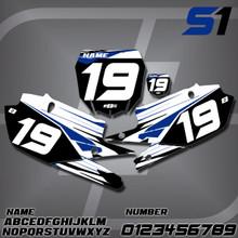 Yamaha S1 Number Plates