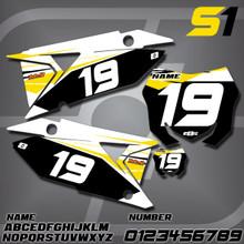 Suzuki S1 Number Plates