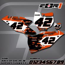 KTM Cor1 Number Plates