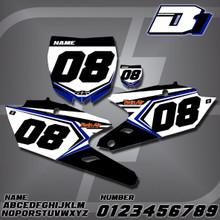 Yamaha D1 Number Plates