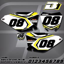 Suzuki D1 Number Plates