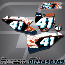 KTM K1 Number Plates