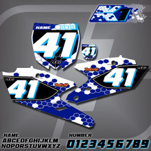 Yamaha K1 Number Plates