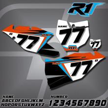 KTM R1 Number Plates