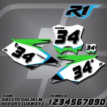 Kawasaki R1 Number Plates