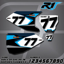 Husqvarna R1 Number Plates