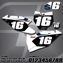 KTM S16 Number Plates