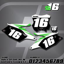 Kawasaki S16 Number Plates