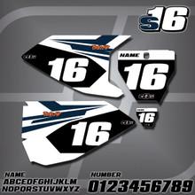 Husqvarna S16 Number Plates
