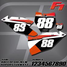 KTM F1 Number Plates