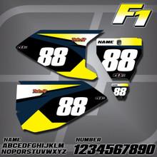 Husqvarna F1 Number Plates