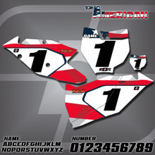 KTM American Number Plates