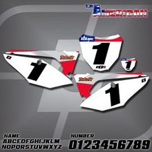 Honda American Number Plates