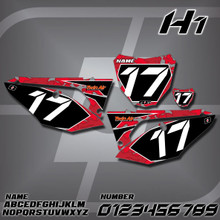 Honda H1 Number Plates