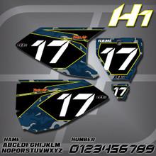 Husqvarna H1 Number Plates