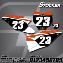 KTM Stocker Number Plates