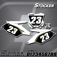 Kawasaki Stocker Number Plates