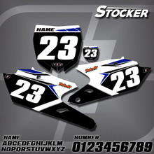 Yamaha Stocker Number Plates