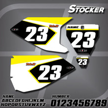 Husqvarna Stocker Number Plates