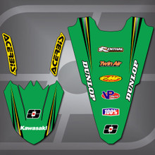 Kawasaki Stocker Fender Set