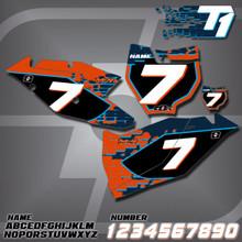 KTM T1 Number Plates