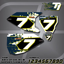 Husqvarna T1 Number Plates