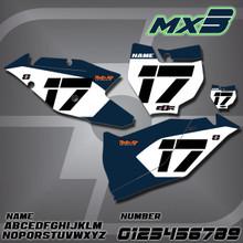 KTM MX3 Number Plates