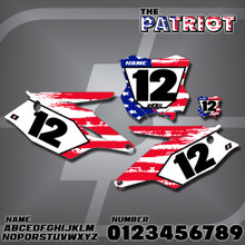 Kawasaki Patriot Number Plates