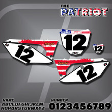Honda Patriot Number Plates