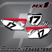 Honda MX1 Number Plates