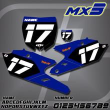 Yamaha MX3 Number Plates