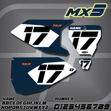 Husqvarna MX3 Number Plates