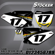 Suzuki Stocker Number Plates