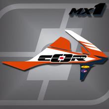 KTM MX1 Shrouds
