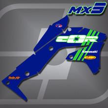 Kawasaki MX3 Shrouds