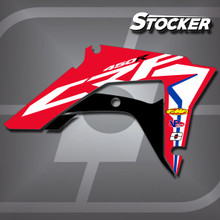 Honda Stocker Shrouds