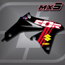 Suzuki MX3 Shrouds