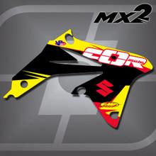 Suzuki MX2 Shrouds