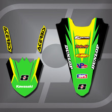 Kawasaki MX2 Fender Set